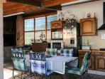Vila Victoria, Gréasque, cuisine d'été pour long séjour