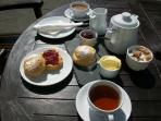 Enjoy a cream tea