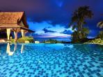 Villa Thai Teak at night - 5 bed luxury and very reasonably priced