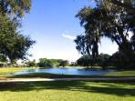Golf paradise by the lake near the beach