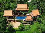 Villa Thai Teak - Aeriel shot of this 5 bedroom property