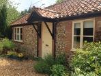 Peaceful village in rural Norfolk