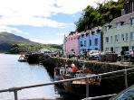 Portree the Capital of the Island and just a 30 minute drive