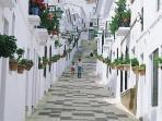 Mijas White washed town