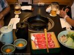 Sukiyaki, one of our favorite Japanese dish