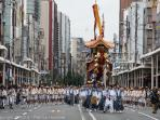 Gion Matsuri - the largest Japanese festival