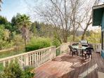 Upper Deck & Outdoor Dining Area