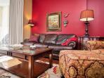 Luxurious comfortable living area furniture