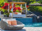 Complimentary and Reservation-Only Pool-side Lounging Options