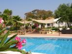 Spacious Seville Cortijo with large private pool set in orange groves free wifi