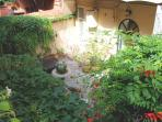 Inner courtyard garden