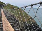 Carrick-a rede rope bridge