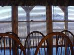 Your view from the dining room table!