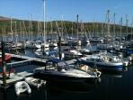 Port Bannatyne Marina is only a few minutes walk away