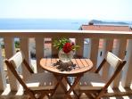 Balcony nice sea view