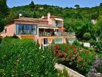 front views villa la rose des vents