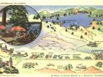 Old Lake Arrowhead Post Card.