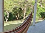 Eastern porch and hammock