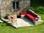 'piazzetta' in a garden court