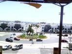 View from inside La Zenia Boulevard