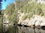 Leven River mountain end.