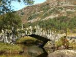 Slaters Bridge, Little Langdale - a short walk with fantastic views all the way!