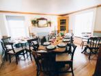 Dining Hall for up to 25 with more in Kichen