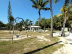 Swings at the Private Community Beach