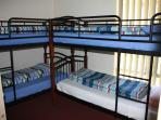 Bed 3 with 2 sets of bunks for children