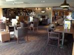 The Boatie Blest full service bar and restaurant at Seton Sands