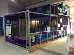 Indoor soft play area for the wee ones