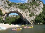 Pont d'Arc (25 Km)