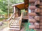 Creek Front Cabin - Mountain Hollow