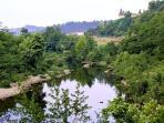 Une des rivières (à 5 minutes de la maison).