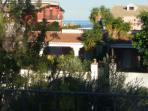 veduta panoramica del terrazzo