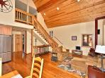 Living Space and Upper Loft