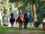 La Pescaia Resort - activities: horseback riding classes and excursions