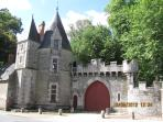 Josselin Castle - a few steps from Maison Bleue.