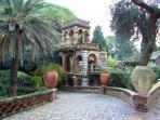 public garden from Taormina