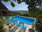 Near the Budapest, guest house with swimming pool, 6 rooms.Relaxation with children.