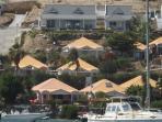 villa vue du large