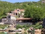 Fishing Village in Skada Lake