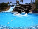 slides at woter park