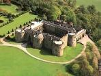 Chirk castle, one of our local national trust properties.