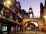 The Roman city of Chester