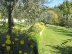 garden Villetta Poggio Mirteto