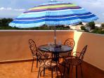 Dine al fresco on the large sun terrace