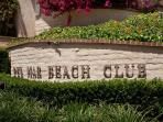 Prestigious Del Mar Beach Club located in Solana Beach
