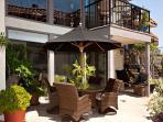 Oceanview patio