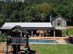 Black Mountian, Pool House, Sonoma County Vacation Rental